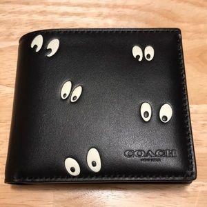Disney X Coach 3-In-1 Wallet Snow White Eyes Print